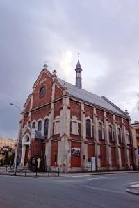 Trochę burzowych chmur nad Kościółkiem