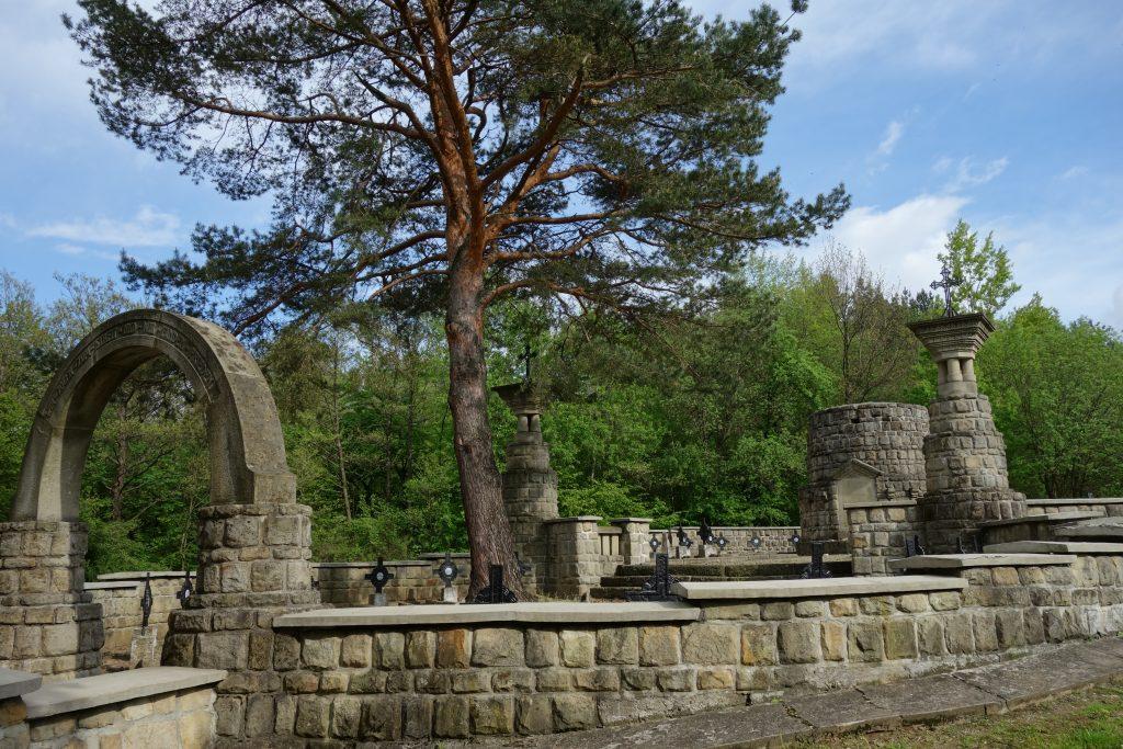 Cmentarz nr 11 z I wojny światowej w Woli Cieklińskiej
