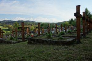Cmentarz żołnierzy walczących na froncie I wojny światowej w Desznicy