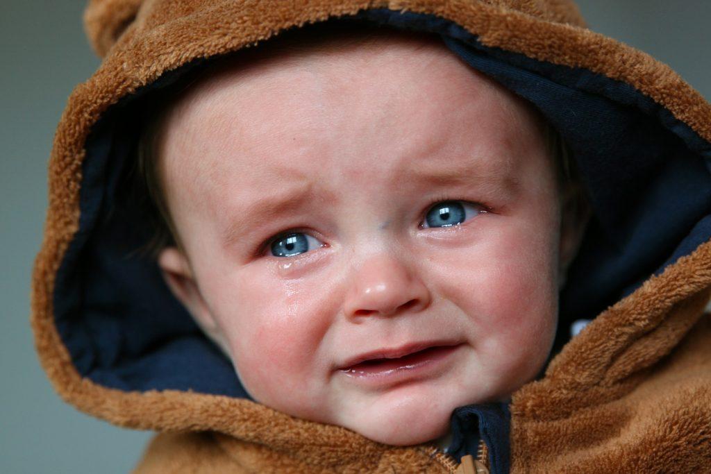 Kochane, acz płaczące dziecko