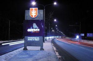 Gdynia moje miasto. Uśmiechnij się, jesteś w Gdyni! (fot. https://www.signs.pl)