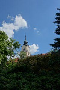 Rzeszów - zamek, wieża (fot. ja)
