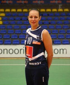 Dorota Pykosz (fot. Liga Siatkówki Kobiet – PLS / ze zbiorów prywatnych autora)