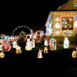 Świąteczne dekoracje nie dla ubogich lub dla tych, którzy mieszkają tam, gdzie prąd tani. (fot. ja)