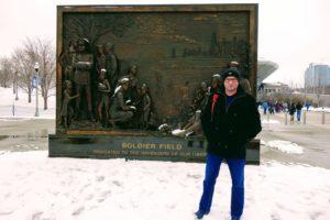 Namacalne i niezorganizowane, stąd bardzo osobiste zwiedzanie rozpoczęło się od Soldier Field.